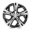 """Hliníkové kolo Peugeot CARBONE Storm Grey (FXS) 17"""" - 208"""