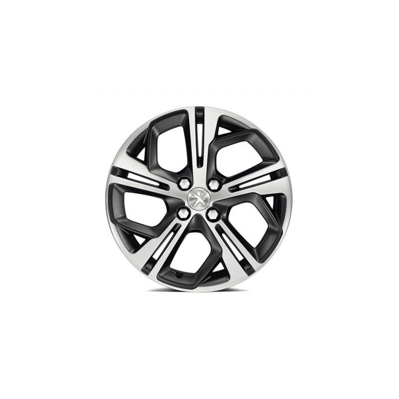 """Hliníkové koleso Peugeot CARBONE Storm Grey (FXS) 17"""" - 208"""