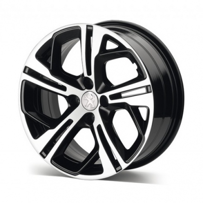 "Hliníkové koleso Peugeot CARBONE GTi Černá Onyx 17 ""- 208"