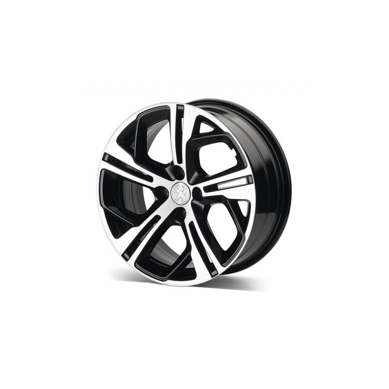 "Leichtmetallfelge Peugeot CARBONE 17 ""- 208"