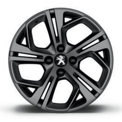 "Alloy wheel Peugeot CARBONE GTi Matt Grey 17 ""- 208"