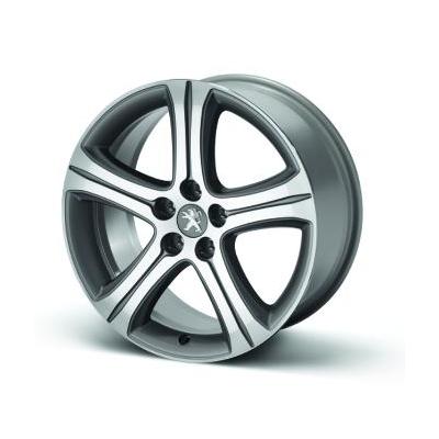 """Leichtmetallfelge Peugeot STYLE 10 - STORM 18"""" - 508"""