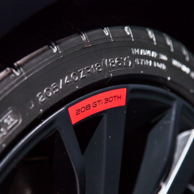 """Cerchio in lega Peugeot LITHIUM 30th 18"""" - 208"""