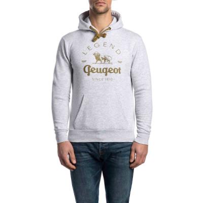 Sudadera gris de hombre Peugeot LEGEND