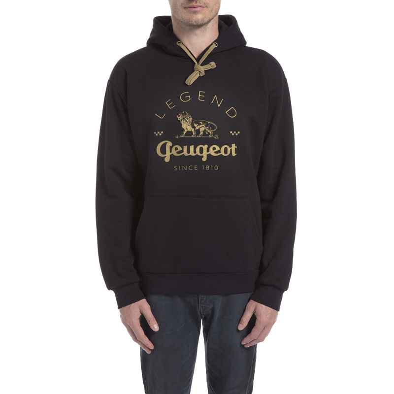 58f7391ada Men s hoodie Peugeot LEGEND – black