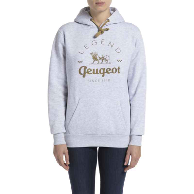 Sudadera gris de mujer Peugeot LEGEND