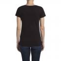Camiseta negra de mujer Peugeot LEGEND
