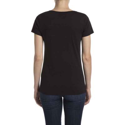 T-shirt nero da donna Peugeot LEGEND