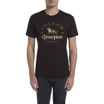 Men's Black t-shirt Peugeot LEGEND