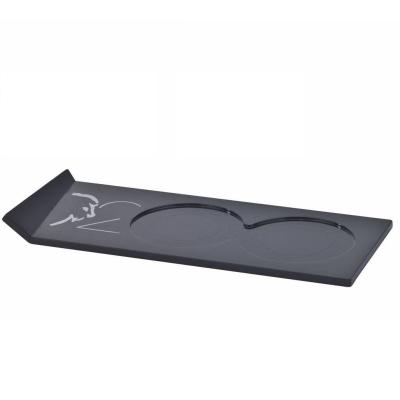 Peugeot Bandeja Alpha negra para dúo de molinillos