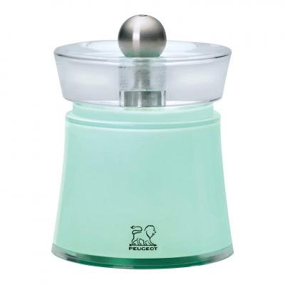 Peugeot BALI Molinillo de sal color verde agua 8 cm