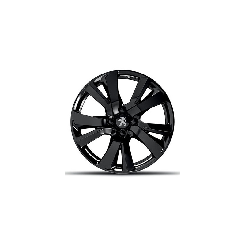 """Alloy wheel Peugeot ERIDAN NOIR ONYX 17"""" - 2008"""