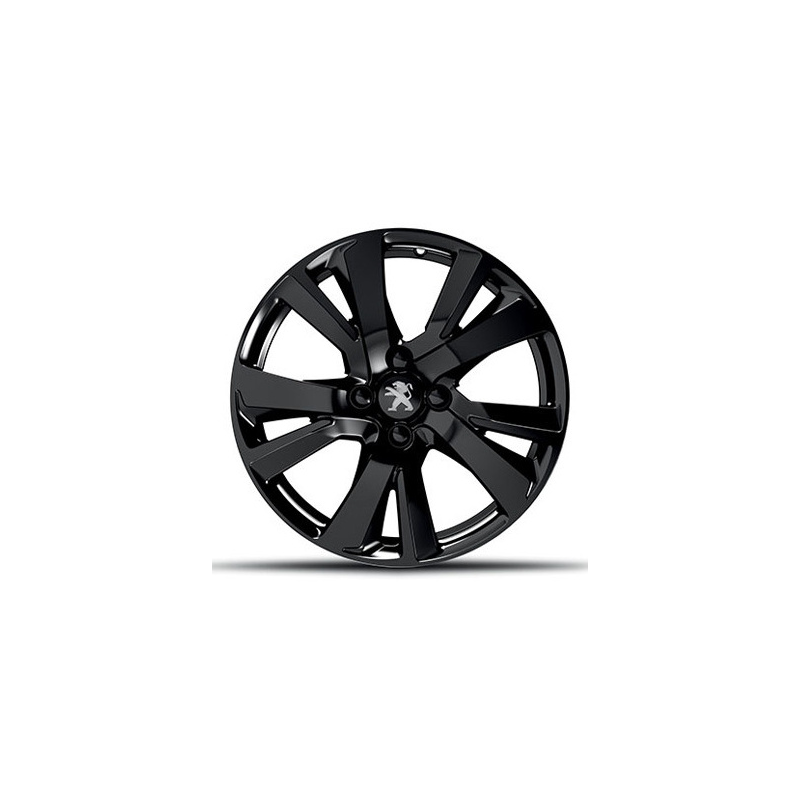 alloy wheel peugeot eridan noir onyx 17 2008 eshop. Black Bedroom Furniture Sets. Home Design Ideas