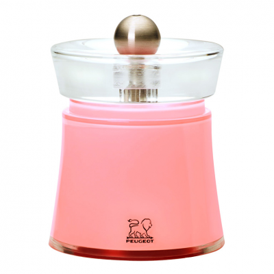 Peugeot BALI Molinillo de sal color rosa terciopelo 8 cm