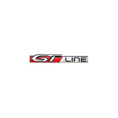 """Štítek """"GT LINE"""" levý bok vozu Peugeot 2008"""