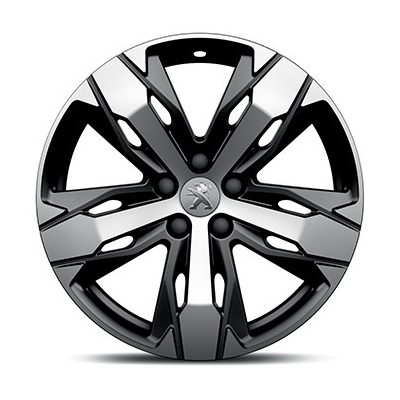"Leichtmetallfelge Peugeot LOS ANGELES 18"" - Neu 3008 (P84), Neu 5008 (P87)"