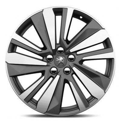 "Cerchio in lega Peugeot WASHINGTON 19"" - Nuova 3008 (P84), Nuova 5008 (P87)"