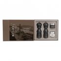 Peugeot PARIS Dúo de molinillos de pimienta y sal U'Select, chocolate 18 cm