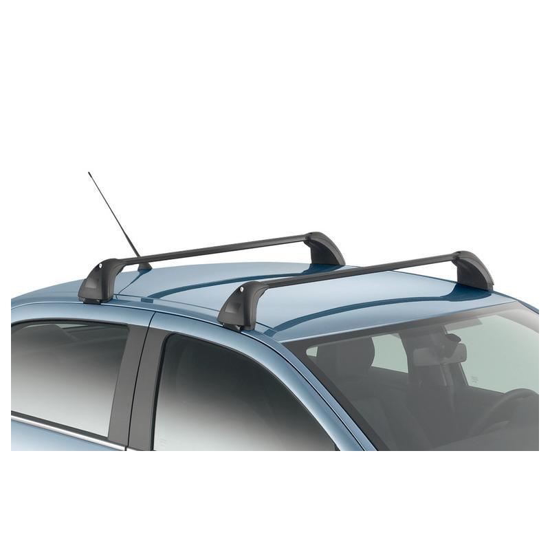 Serie di 2 barre del tetto trasversali Peugeot 301, Citroën C-Elysée