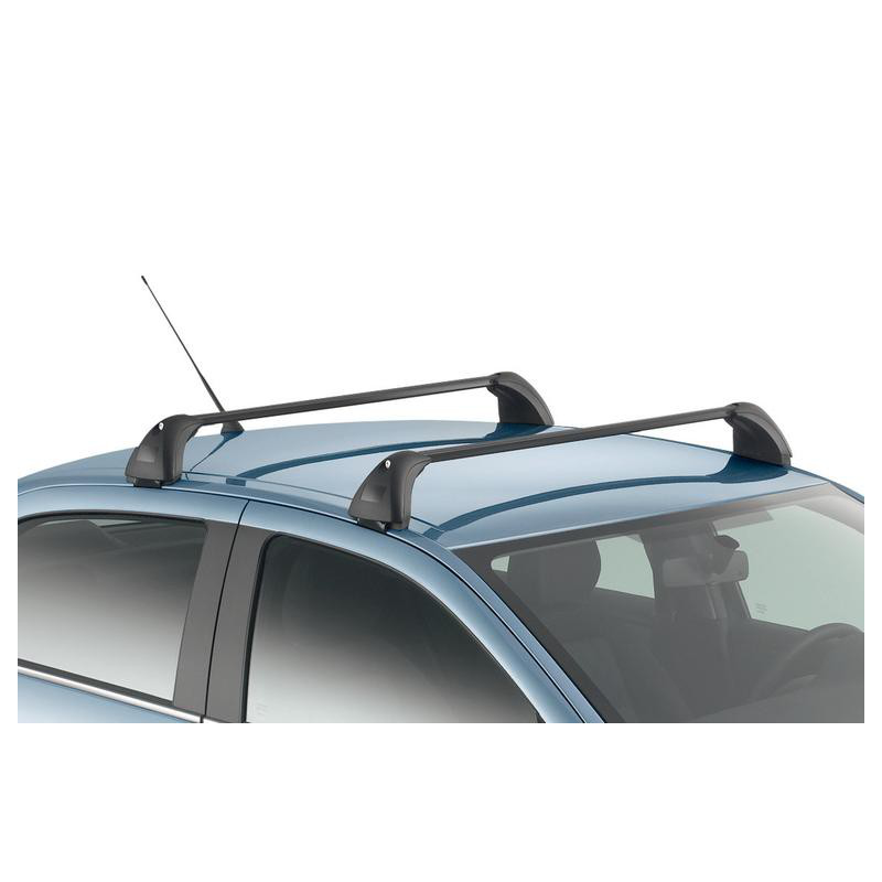 Set of 2 transverse roof bars Peugeot 301, Citroën C-Elysée