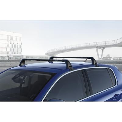 Juego de 2 barras de techo transversales Peugeot 308 5 Puertas (T9)