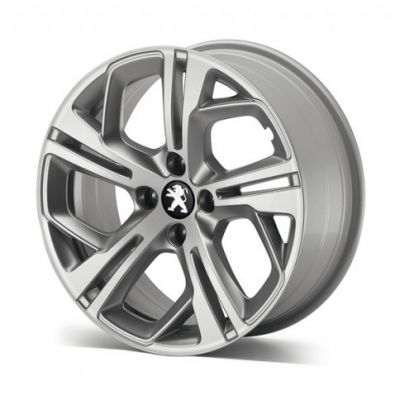 "Alloy wheel Peugeot CARBONE GTi Grey 17"" - 208"