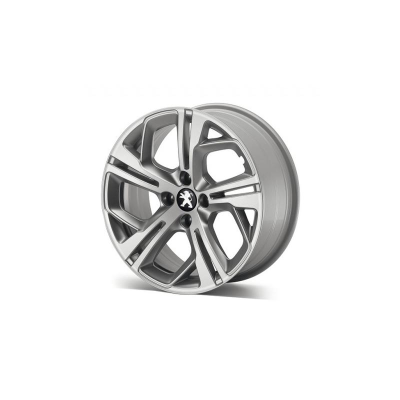 "Leichtmetallfelge Peugeot CARBONE GTi Storm Grey 17"" - 208"