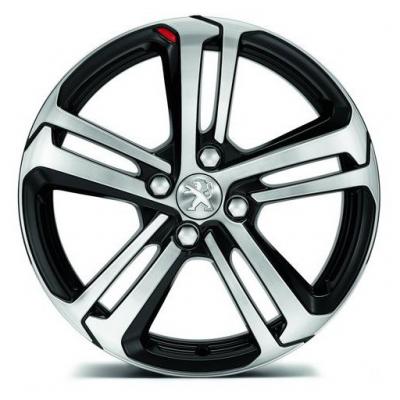 "Alloy wheel Peugeot CAESIUM 17"" - 208"