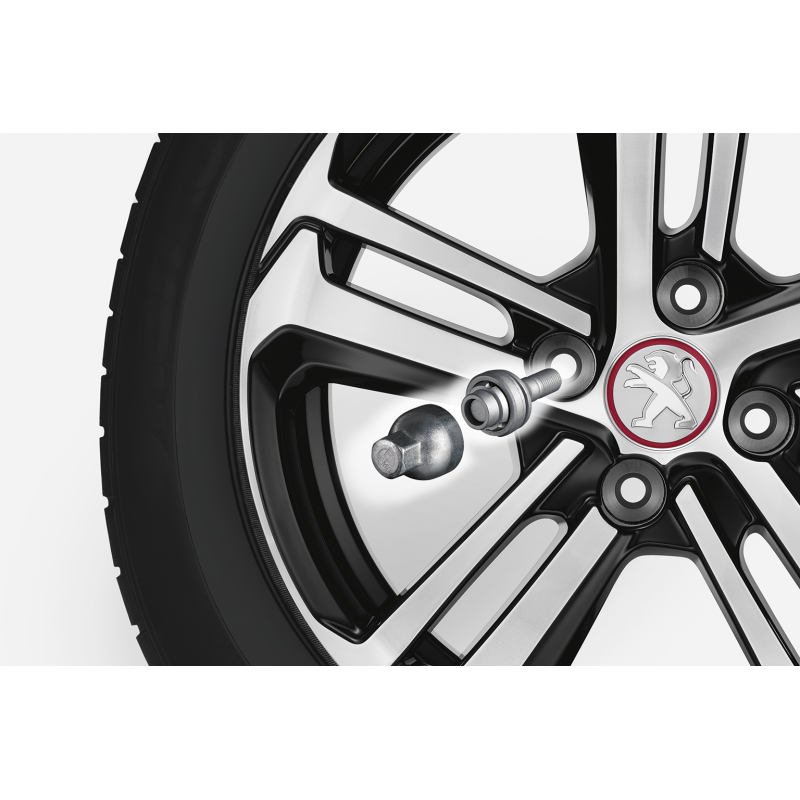 Bezpečnostné skrutky Peugeot, Citroën pre alu kola