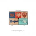 """Set of magnets Peugeot """"EMOTION"""""""