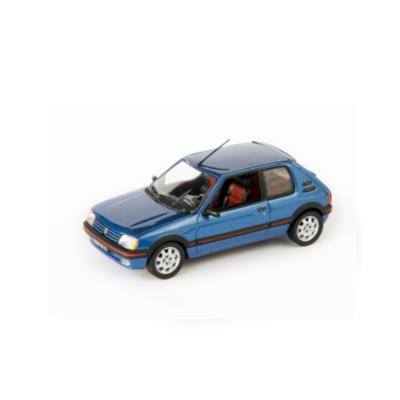 Model Peugeot 205 GTI 1992 1:43 MIAMI BLUE