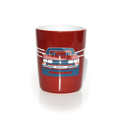 Porcelain mug Peugeot 504