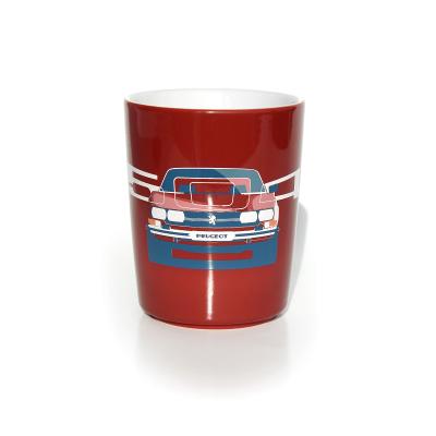 Porcelánový hrnček Peugeot 504
