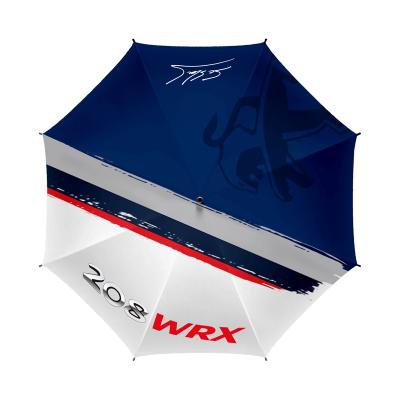 Peugeot Sport 208 WRX 2018 umbrella