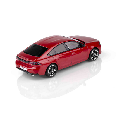 Miniatur Peugeot 508 (R8) Rot Ultimate 1:43
