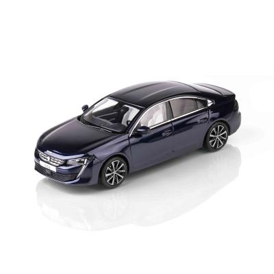 Modelo Peugeot 508 (R8) Dark Blue 1:43
