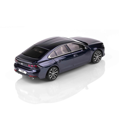 Miniatúra Peugeot 508 (R8) modrá 1:43