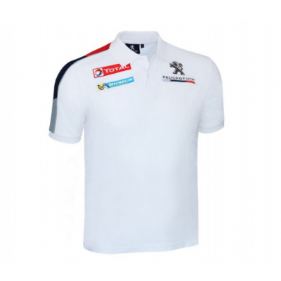 T-shirt polo replica Peugeot Sport
