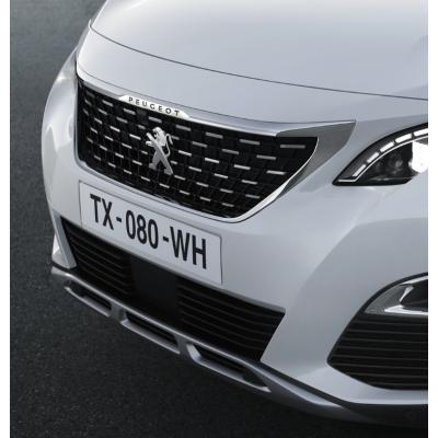 Front bumper moulding CHROME Peugeot - New 3008 (P84)