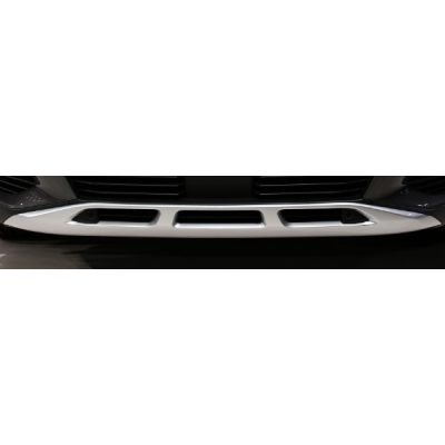 Okrasná lišta predného nárazníka LION GREY Peugeot - Nová 3008 (P84)