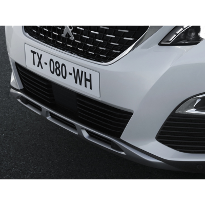 Profilo del paraurti anteriore CHROME Peugeot - Nuova 3008 (P84)