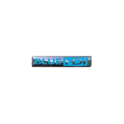 """Štítek """"BLUE HDi"""" zadní část vozu Peugeot Partner (Tepee) B9"""