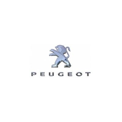 "Badge ""LION + PEUGEOT"" rear Peugeot - New 3008 (P84)"