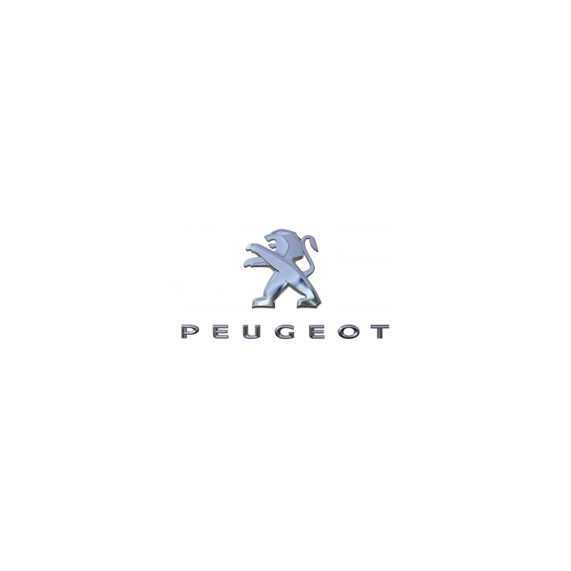 """Badge """"LION + PEUGEOT"""" rear Peugeot - New 3008 (P84)"""