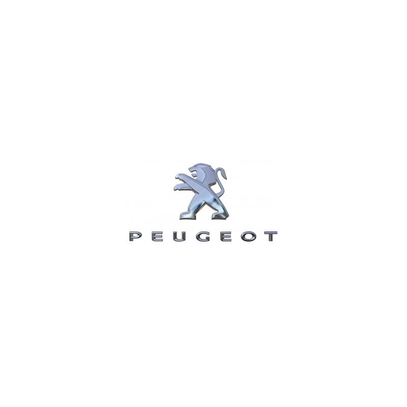 """Štítek """"LEV + PEUGEOT"""" zadní část vozu Peugeot - Nová 3008 (P84)"""