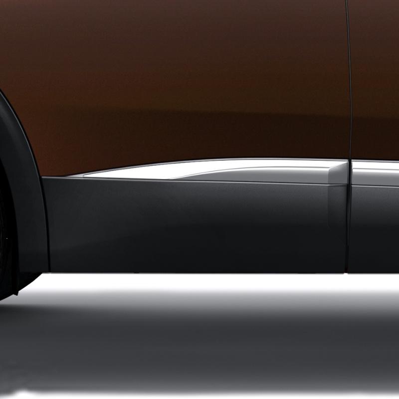 Boční chránič zadních dveří pravý CHROM Peugeot - Nová 3008 (P84)