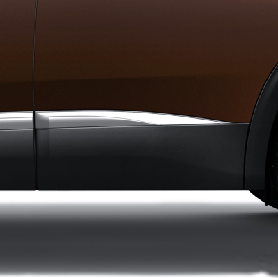 Side rear door protector left CHROME Peugeot - New 3008 (P84)