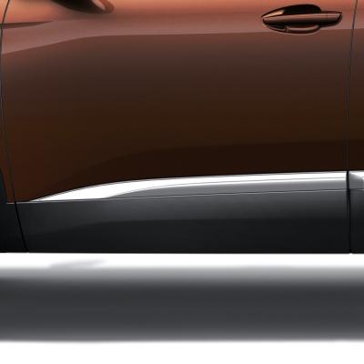 Boční chránič předních dveří levý CHROM Peugeot - 3008 (P84), Nová 5008 (P87)
