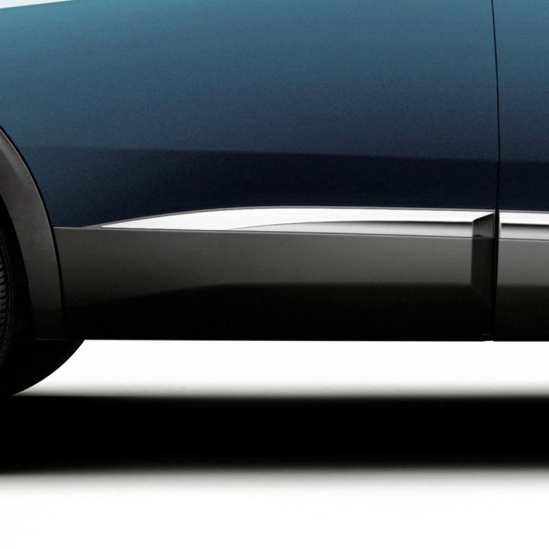 Boční chránič zadních dveří pravý CHROM Peugeot - Nová 5008 (P87)