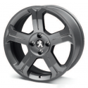 "Alloy wheel Peugeot LINCANCABUR DARK 18"" - 308"